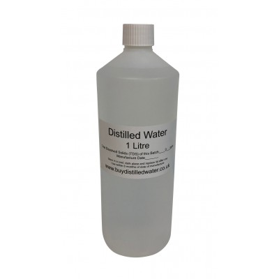 1 Litre Distilled Water