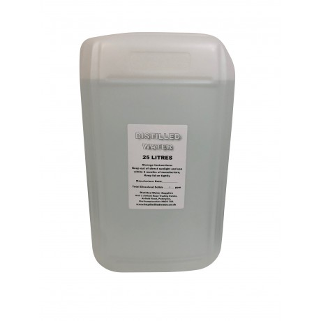 25 Litre Distilled Water