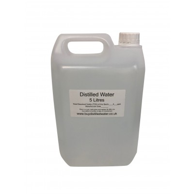 5 Litre Distilled Water