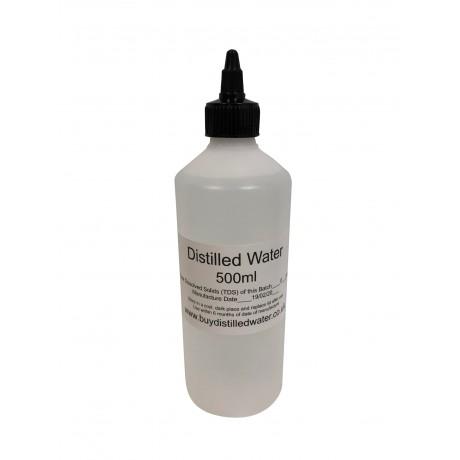500ml Distilled Water with Twist Cap